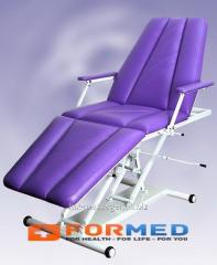 MK-2 couch massage and cosmetology 3 section SDM,