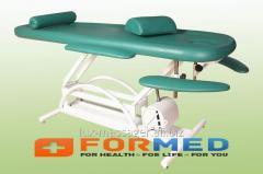 M-3 couch massage with the mechanical regulator of