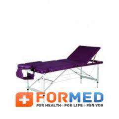 Массажный стол 3-х секционный HY-3381, арт. F2967