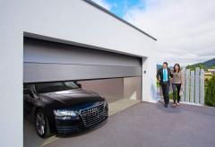 Секционные гаражные ворота Steko