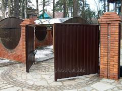 Распашные ворота Steko