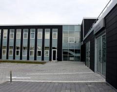 Aluminum facade of Stek