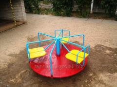 Roundabout nursery game street 6-seater
