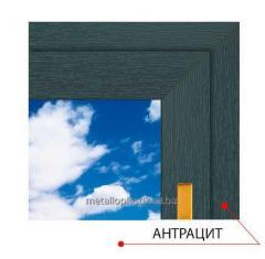 The laminated Anthracite window Stek