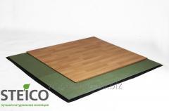 Material para colocar em baixo de piso laminado