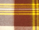 Plaid wool, bed plaids acryle from the producer