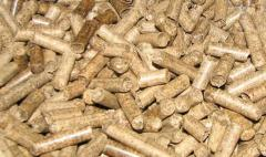 Pellets from pod of a sunflower and elimination of