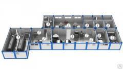 Модульный молочный цех, Строим молочно-товарные