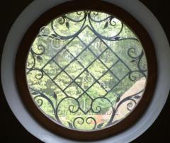 Round windows, production of windows wooden