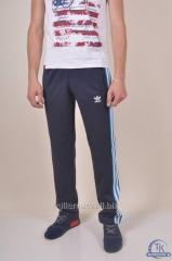 Брюки спортивные мужские эластиковые Adidas БРЮКИ