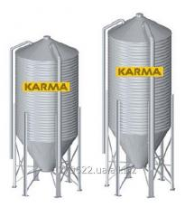 Silos for Karma compound feed - are intended for