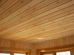 Lining for a ceiling covering