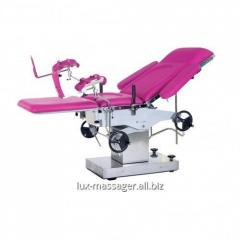 Viewing gynecologic chair (operating table) of