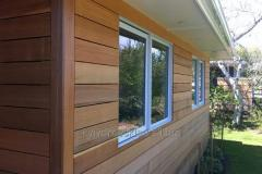 Wooden lining for a covering of external walls,