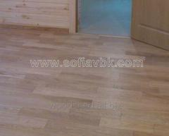 Parquet, parquet board from the massif
