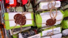 Мыло натуральное  Чайное дерево и Мята