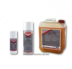 The cooling and lubricant substance for greasing