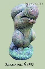 Concrete sculptures Little squirrel