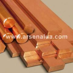 Bar copper M1,M2, import production, diameter