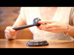 Auctioneer Klassik's hammer
