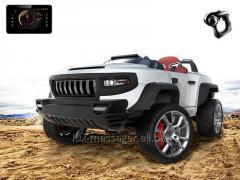 Детский электромобиль Henes Broon T870 white