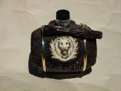 Сувенирная бутылка Бочонок Лев