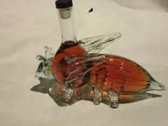 Коньячная бутылка Пчела