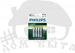 PHILIPS LongLife R03-L4B (4BL) batteries