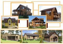 Maisons portiques en panneaux