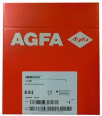 Mammography x-ray film of Agfa Mamoray HDR 18x24