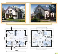 Коробка двухэтажного дома,  общей площадью -...