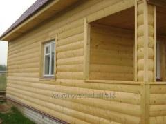 Block house wooden, Kiev