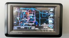 Авиационный GPS навигатор Garmin Aera 550 русифицированный!