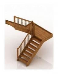 Лестница на бетонном основании без бетона,