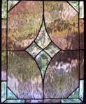 Stained-glass windows are face