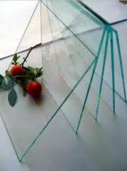 Glass sheet for Windows, glass production