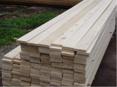 Boards of soft breeds of wood