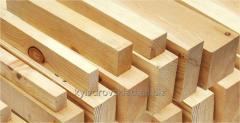 Wooden bar of natural humidity