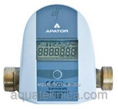 Compact heat meter of Apator ELF of Dn of 15 20 mm