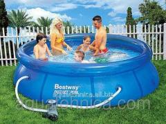 Inflatable round pool of BestWay of 244 cm x 66 cm