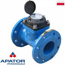 Water counter irrigational Apator of 65 mm