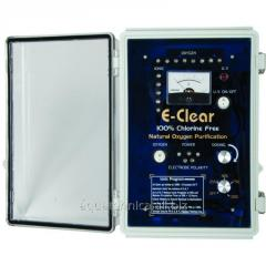 E-Clear tester for determination of level of