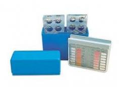 Tester tablet for the pool - active oxygen