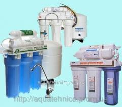 Filters for water ultrafiltration