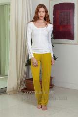 Pajamas female Hays 4138 yellow, code: 80591