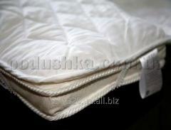 Mattress cover the woolen IGLEN edged by an inlay
