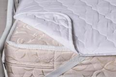 Fleece mattress cover woolen 139ShU, code: 68962