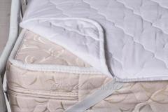 Fleece mattress cover woolen 139ShU, code: 68960