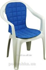 Cover on a chair the Fleece 832 blue, a code: