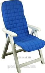 Cover on a chair the Fleece 833 blue, a code: